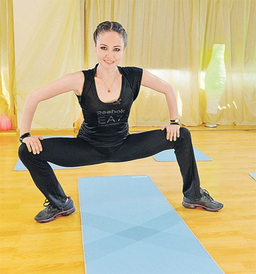 Ульсан утяшева упражнения для похудения